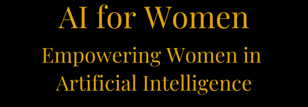 AI for Women logo